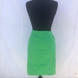 Women's Sz 4 New York & Co. Green Pencil Skirt,